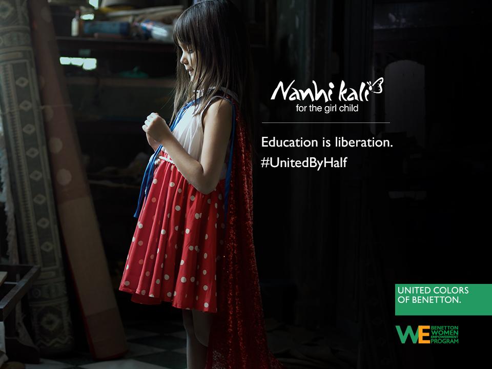 United Colors of Benetton'dan #UnitedbyHalf Kampanyası